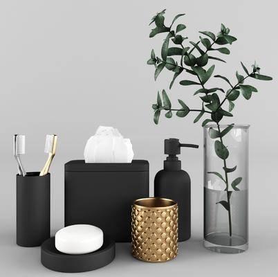 香皂, 纸巾, 沐浴, 洗涤用品组合, 卫浴