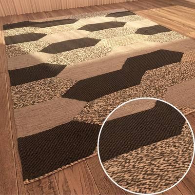 方形地毯, 地毯