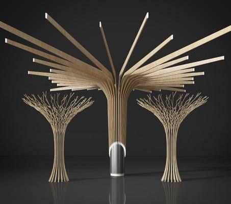 造型雕塑, 几何支架, 现代