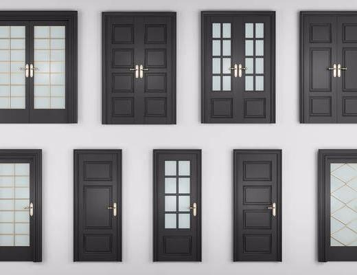 单开门, 双开门, 双开门组合, 现代