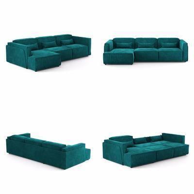 现代沙发, 多人沙发, 转角沙发