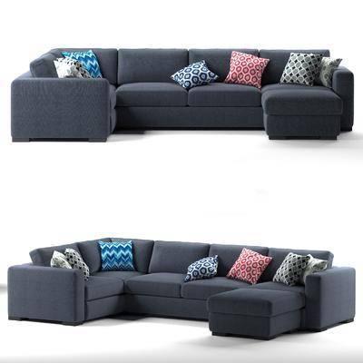 沙发组合, 多人沙发, 转角沙发, 单人沙发, 布艺沙发, 北欧