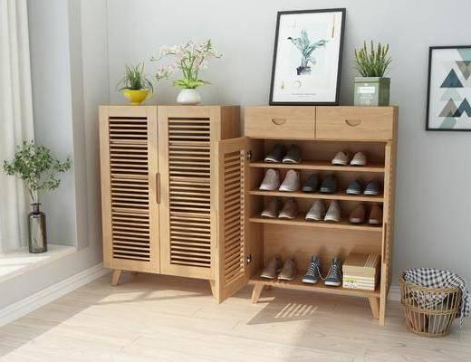 鞋柜, 鞋子, 北欧