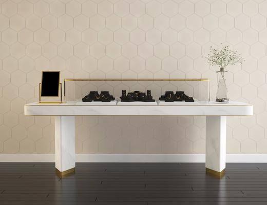 现代珠宝柜, 现代, 珠宝柜, 珠宝展示柜, 珠宝, 首饰, 花瓶