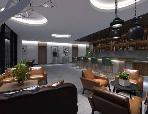 现代咖啡馆, 咖啡馆, 咖啡厅