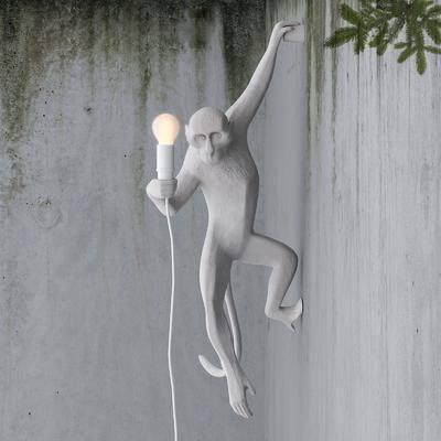 装饰灯, 壁灯, 猴子, 动物, 动物灯