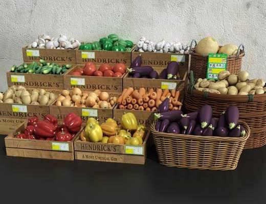 水果, 蔬菜, 蔬果篮
