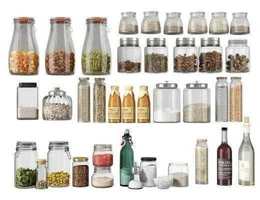 现代, 调料瓶, 单体