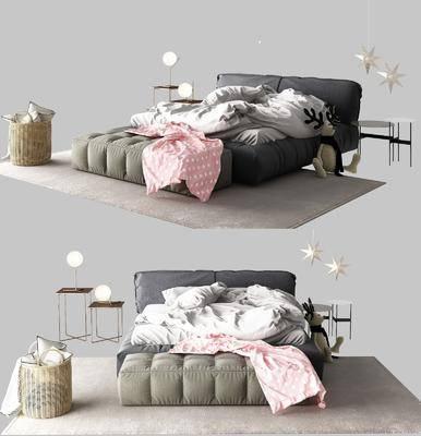 儿童床, 双人床, 组合