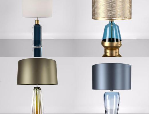 现代台灯, 灯具组合, 台灯组合