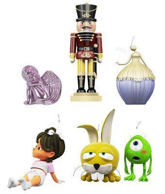 玩具, 玩偶, 摆件, 兔子, 儿童玩具