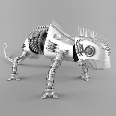 电动玩具, 玩具, 机器人, 现代