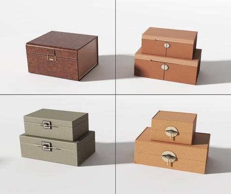 新中式箱子, 盒子