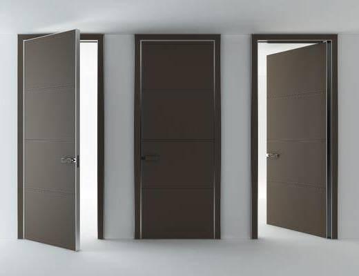 单开门, 平开门, 现代简约