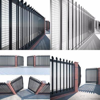 铁护栏, 中式