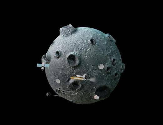 月球, 模型, 星球