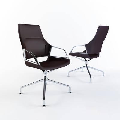 现代办公椅, 现代, 椅子, 办公椅