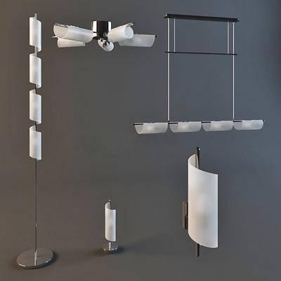现代, 落地灯, 吊灯, 吊灯组合