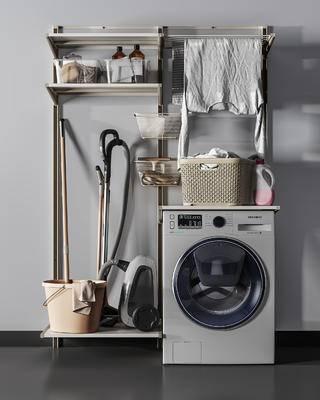 洗衣机, 衣服饰品