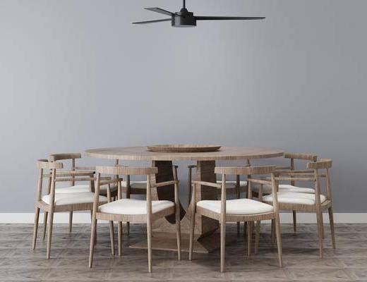 餐桌, 桌椅组合, 吊灯