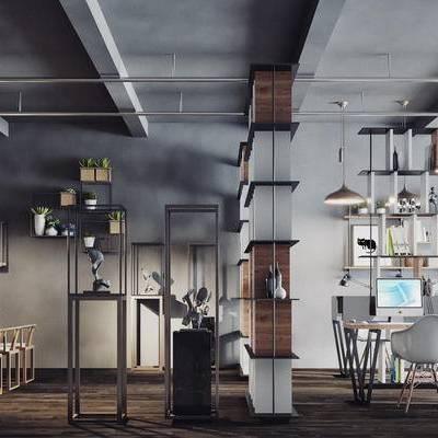 北欧, 现代, 工业风, 餐桌椅, 桌椅组合, 办公桌, 办公椅, 装饰架, 置物架, 吊灯