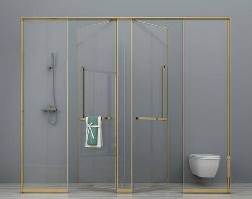 淋浴, 淋浴间, 花洒, 现代淋浴间, 现代