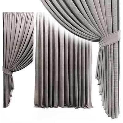 窗帘, 现代, 布艺, 布艺窗帘