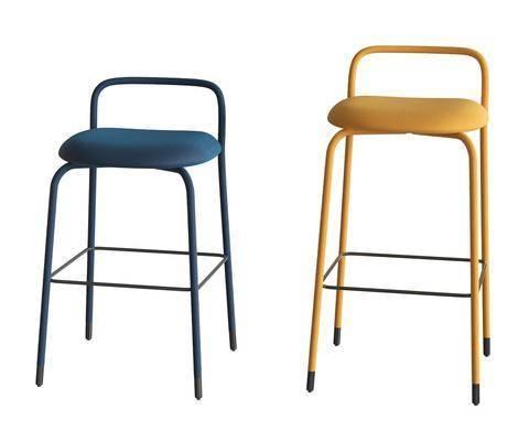 现代休闲椅子吧椅