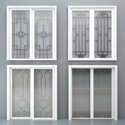 门, 移门, 新中式移门, 欧式移门, 推拉门, 厨房推拉门, 金属移门