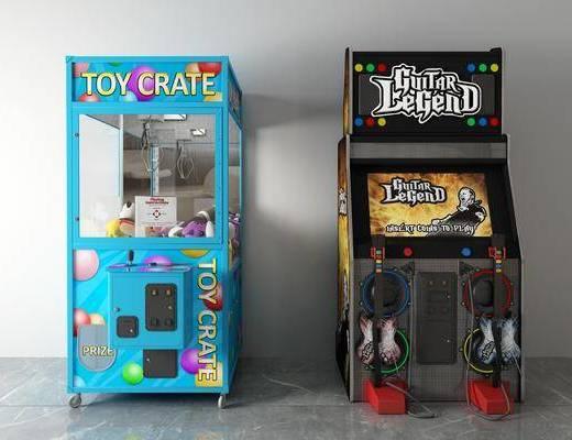 游戏机, 娃娃机