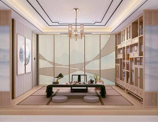 日式茶室, 茶室, 榻榻米