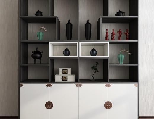 新中式, 装饰柜