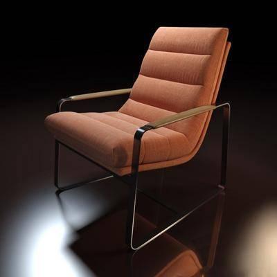 单人椅, 休闲椅, 现代