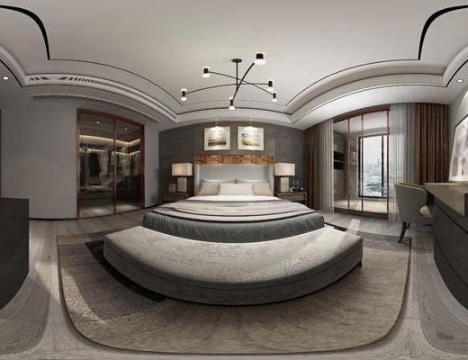 现代卧室, 卧室