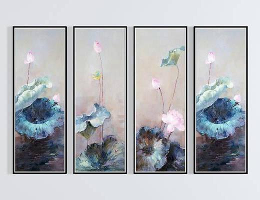 掛畫, 裝飾畫, 植物畫