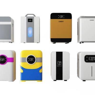 现代单身公寓迷你冰箱, 冰箱, 现代冰箱, 冰箱组合, 冰柜