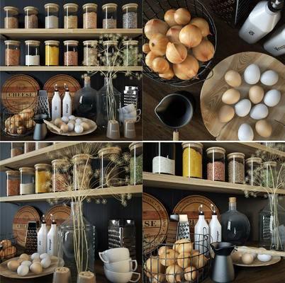 玻璃瓶, 食品, 调料, 现代玻璃瓶食品调料, 现代