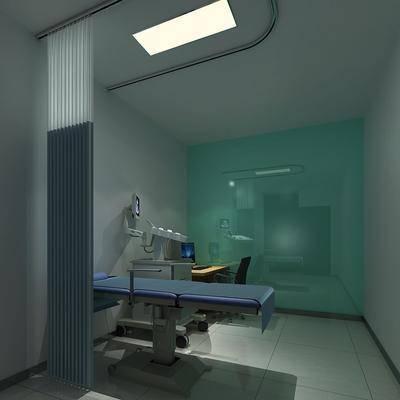 B超室, 医院, 医疗器械, 现代