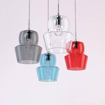 吊灯, 玻璃, 玻璃吊灯, 现代