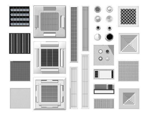 电器, 空调, 排气扇