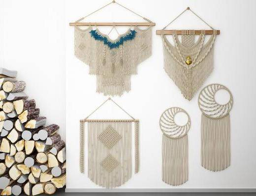 墙饰挂件, 挂件挂毯, 北欧