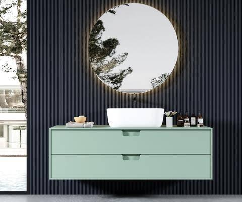 卫浴架, 柜架组合, 摆件, 壁镜