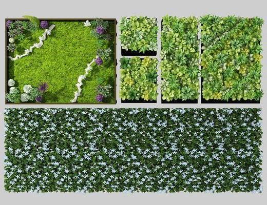 植物墙, 绿植墙
