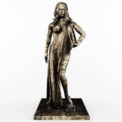 雕塑, 雕刻, 雕像, 装饰品