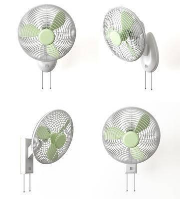 现代摇头壁扇, 电风扇