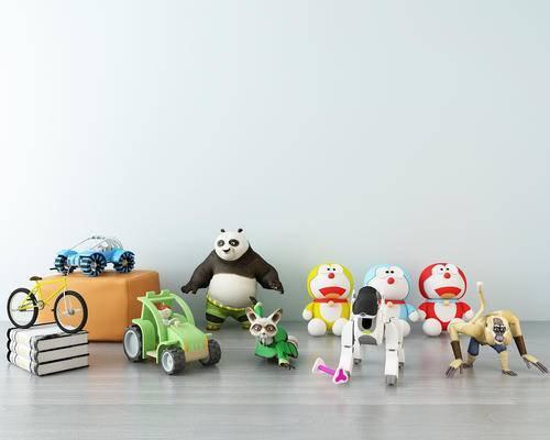 现代儿童玩具