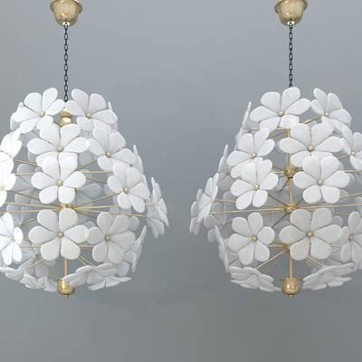 吊灯, 现代吊灯, 花型吊灯, 花状吊灯, 金属吊灯, 个性吊灯, 艺术吊灯
