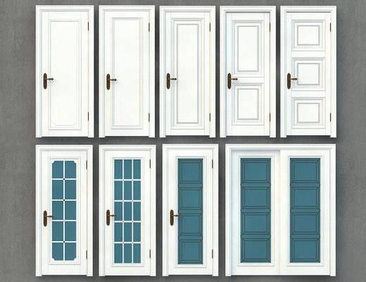平开门, 门组合, 防火门, 防盗门, 安全门, 屏蔽门, 现代