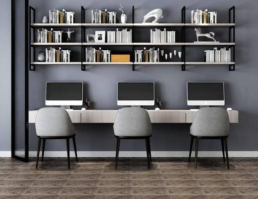 现代, 书桌, 桌椅组合