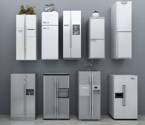 现代, 冰箱, 冰柜
